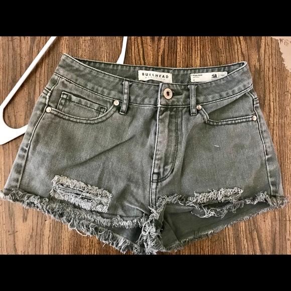Bullhead Pants - Bullhead High Wait shorts